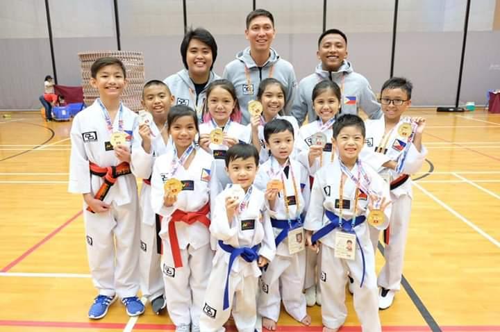 Filipino Kids Taekwondo Champion