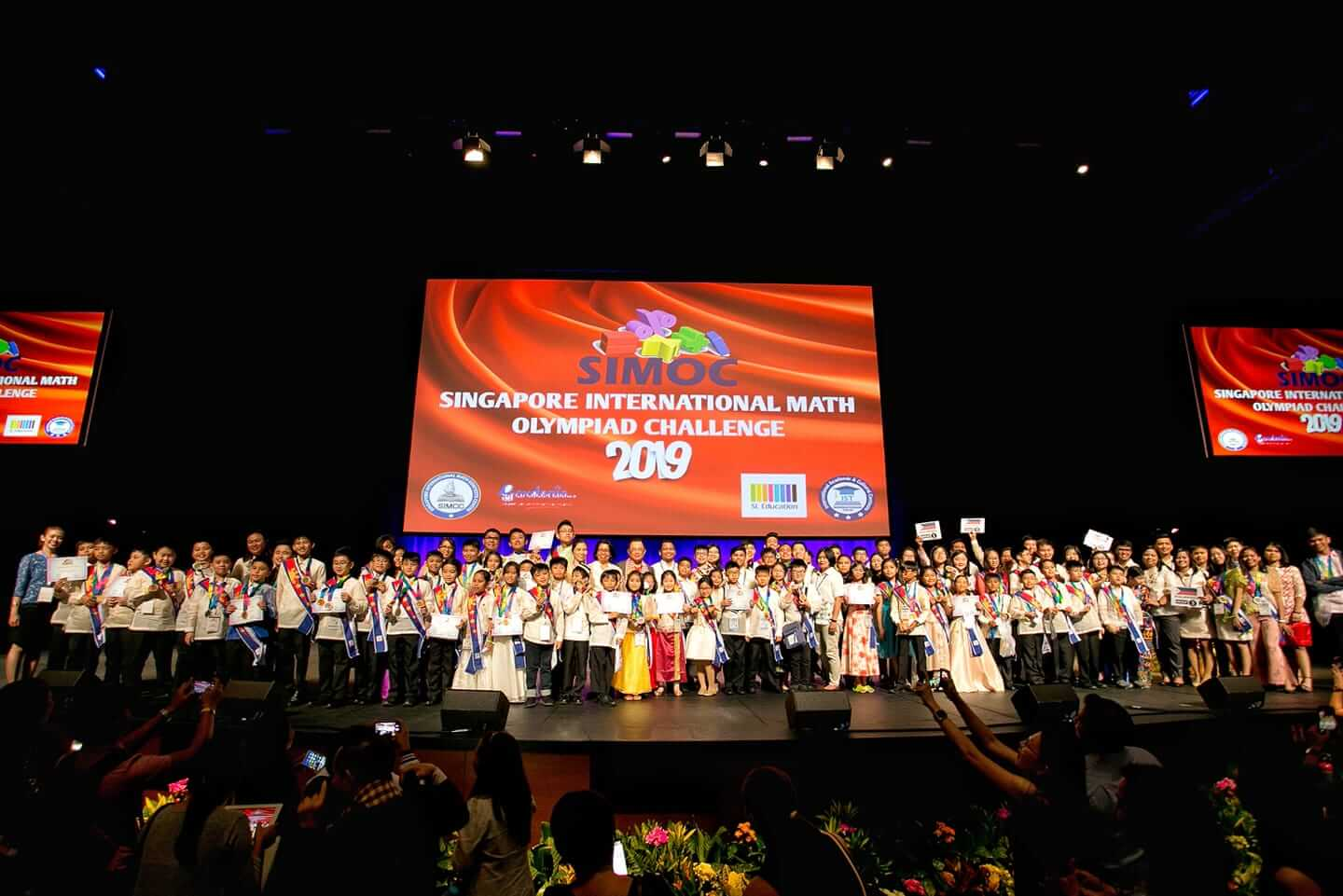 Filipino Math wizards bag 95 medals in smashing Singapore Olympiad
