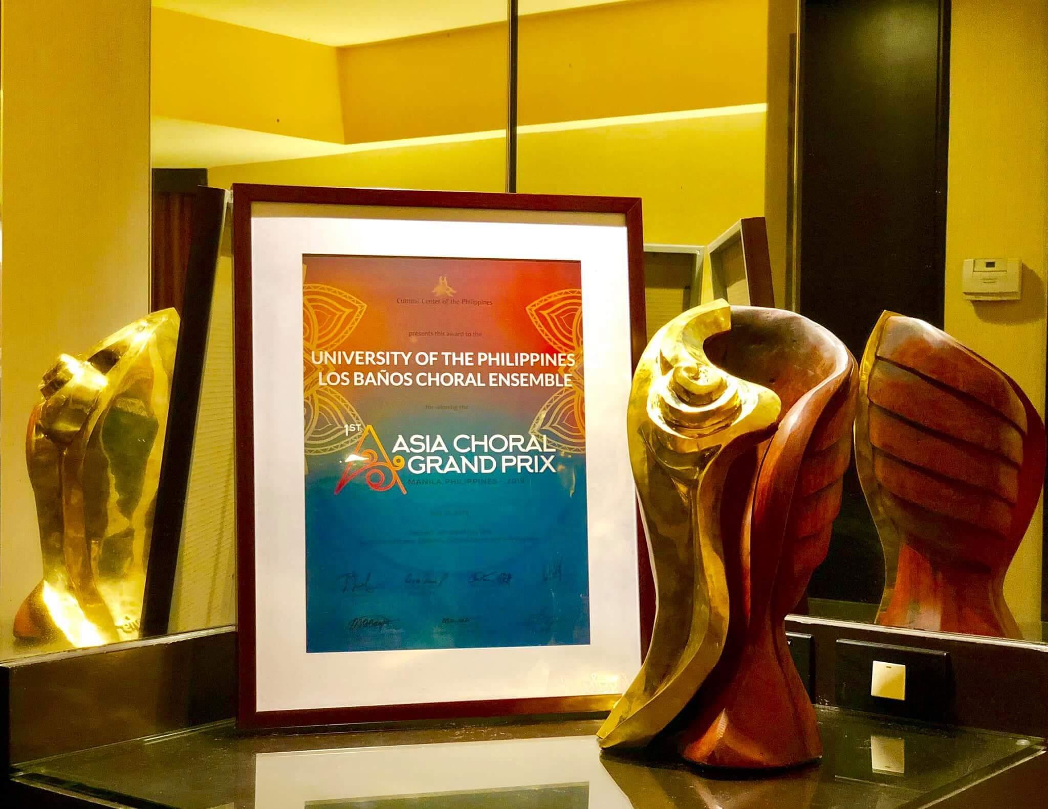 UP Los Banos Choral Ensemble makes history as 1st Asia