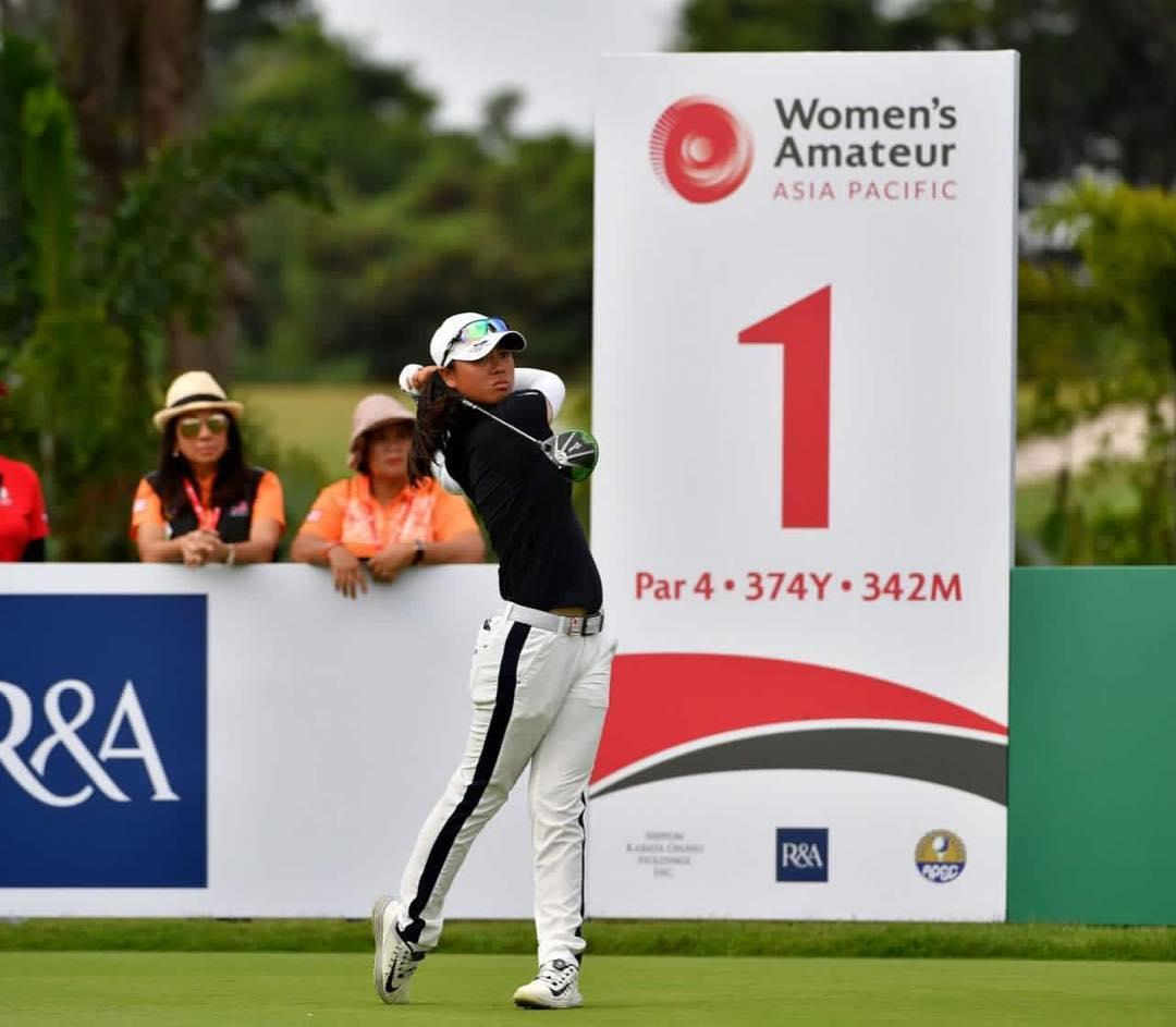 Filipina golfer Yuka Saso