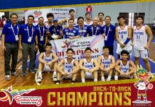 Team Pilipinas Boys Basketball and Girls Basketball teams