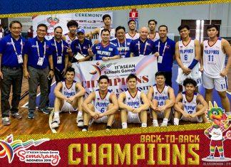 Team Pilipinas Boys Basketball and Girls Basketball teams