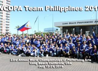 WCOPA Team Philippines