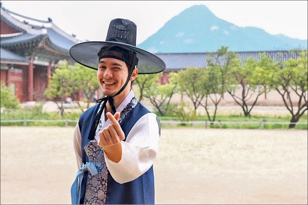 Alden Richards Korea's drama fans
