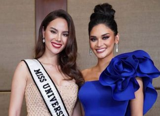 Catriona Gray and Pia Wurtzbach