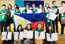 Filipino English students at SPEAK Malaysia