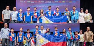 Filipino mathletes Singapore IMC