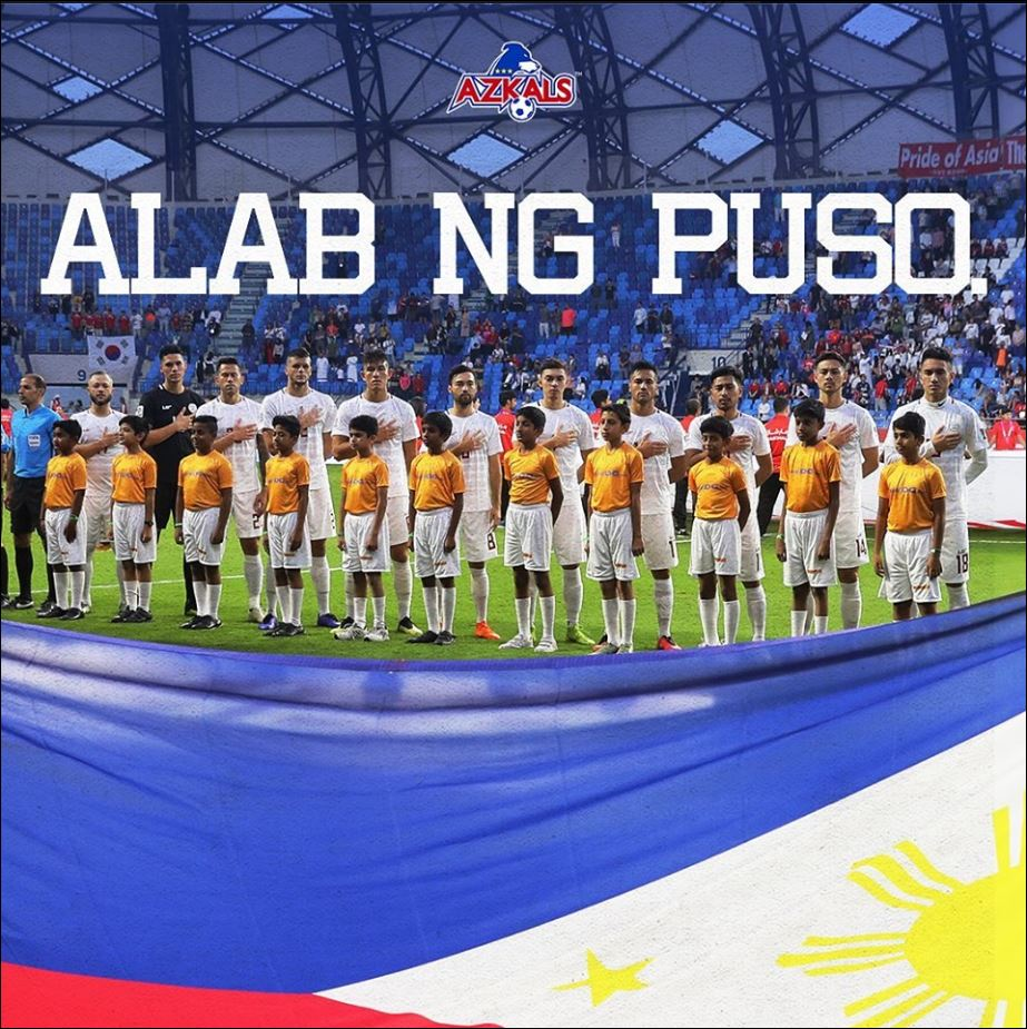 Philippine Azkals first at win FIFA