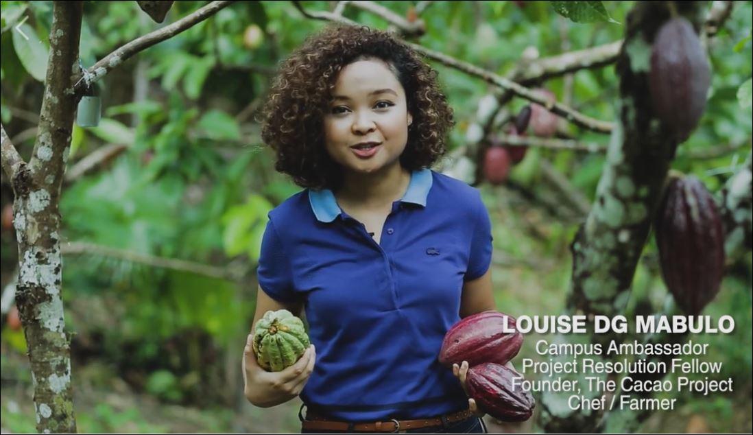 Louise Mabulo Earth prize
