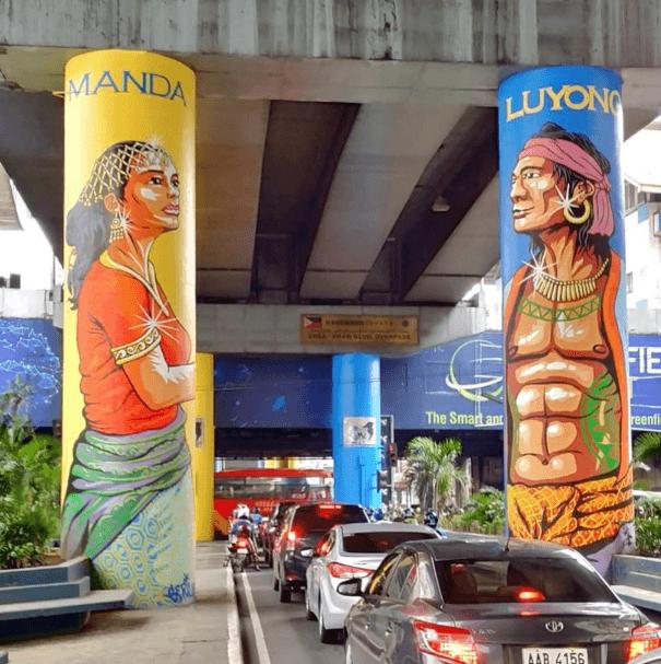 Filipino Legends Manda Luyong