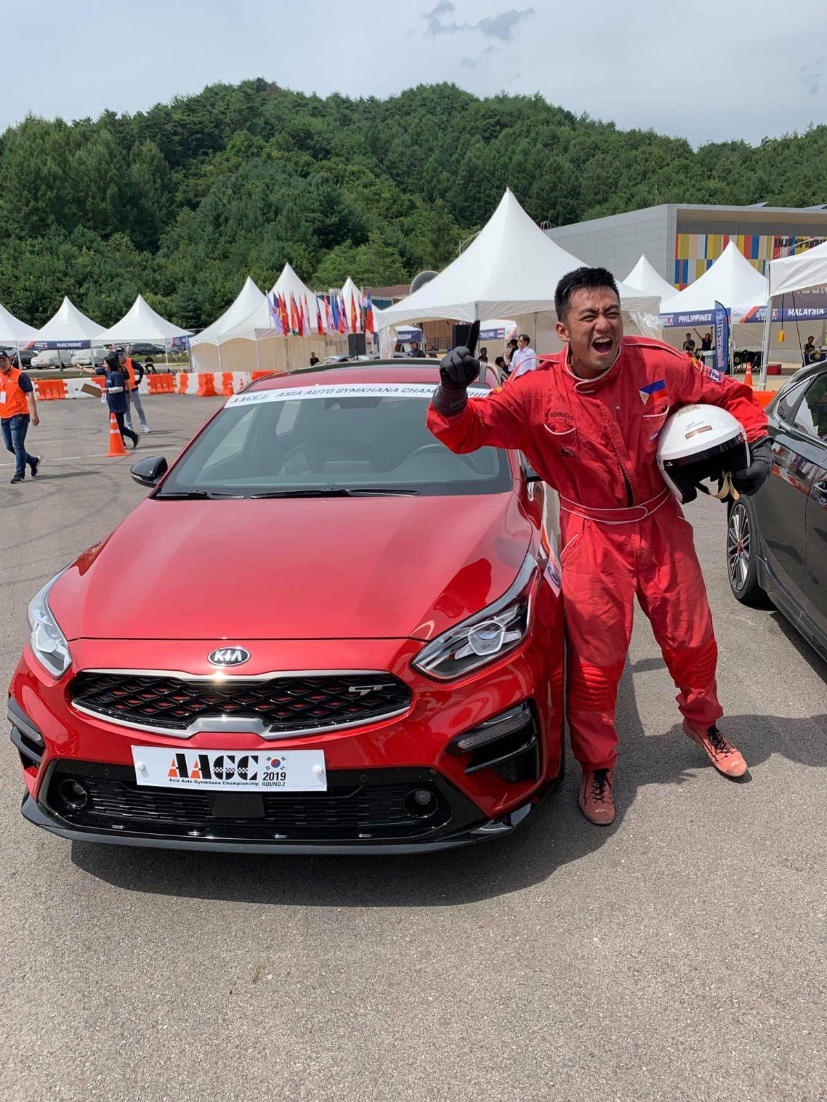 Filipino motorsports Mark Bernales