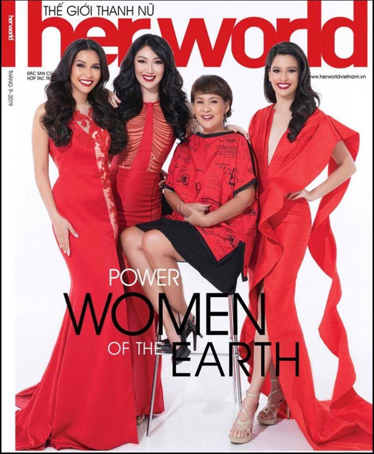 Filipinas Her World Vietnam's cover