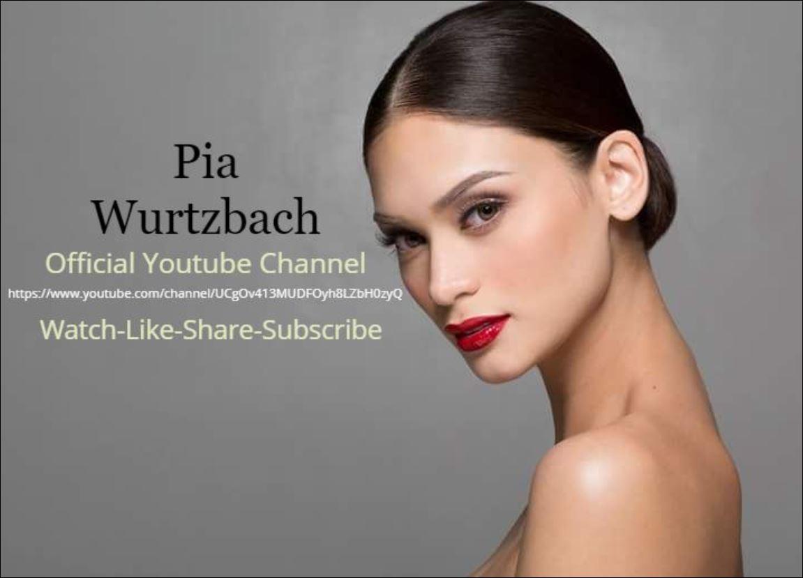 Pia Wurtzbach Youtube