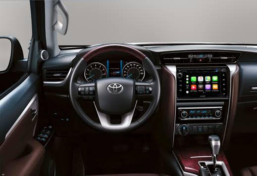 Toyota Fortuner upgrade