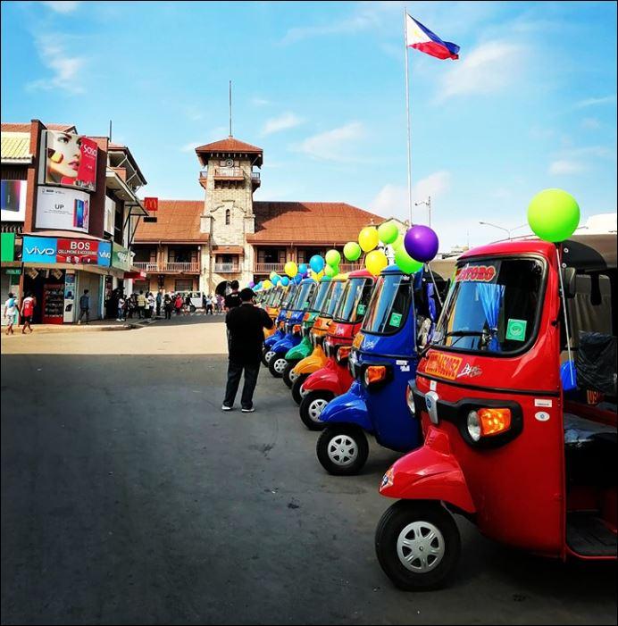 Zamboanga City E-trikes