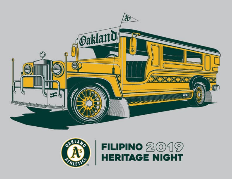 Pinoy jeepney Oakland Athletics
