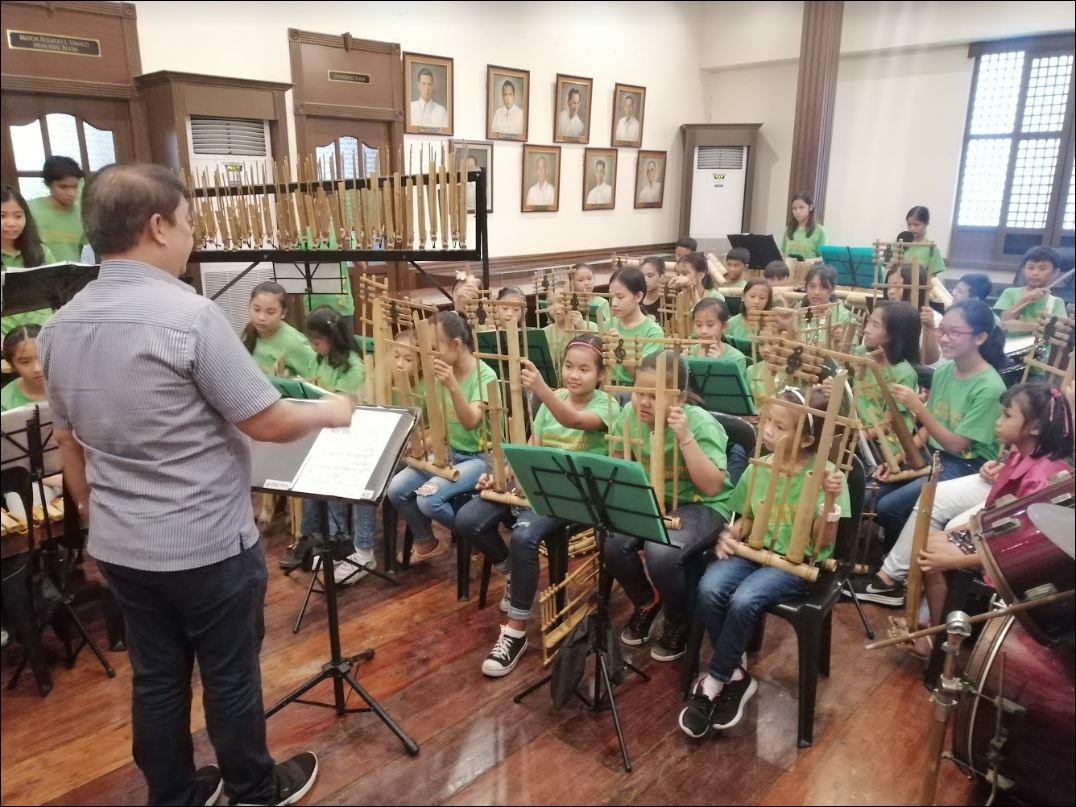 Filipino bamboo musical instruments