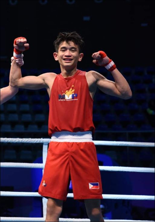Eljay Pamisa Asian Juniors Boxing