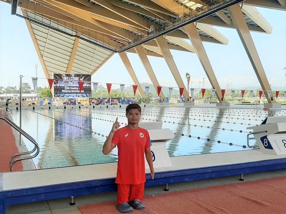 Ernie Gawilan ASEAN Para Games