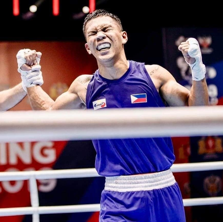 Boxer Eumir Marcial Olympics Results
