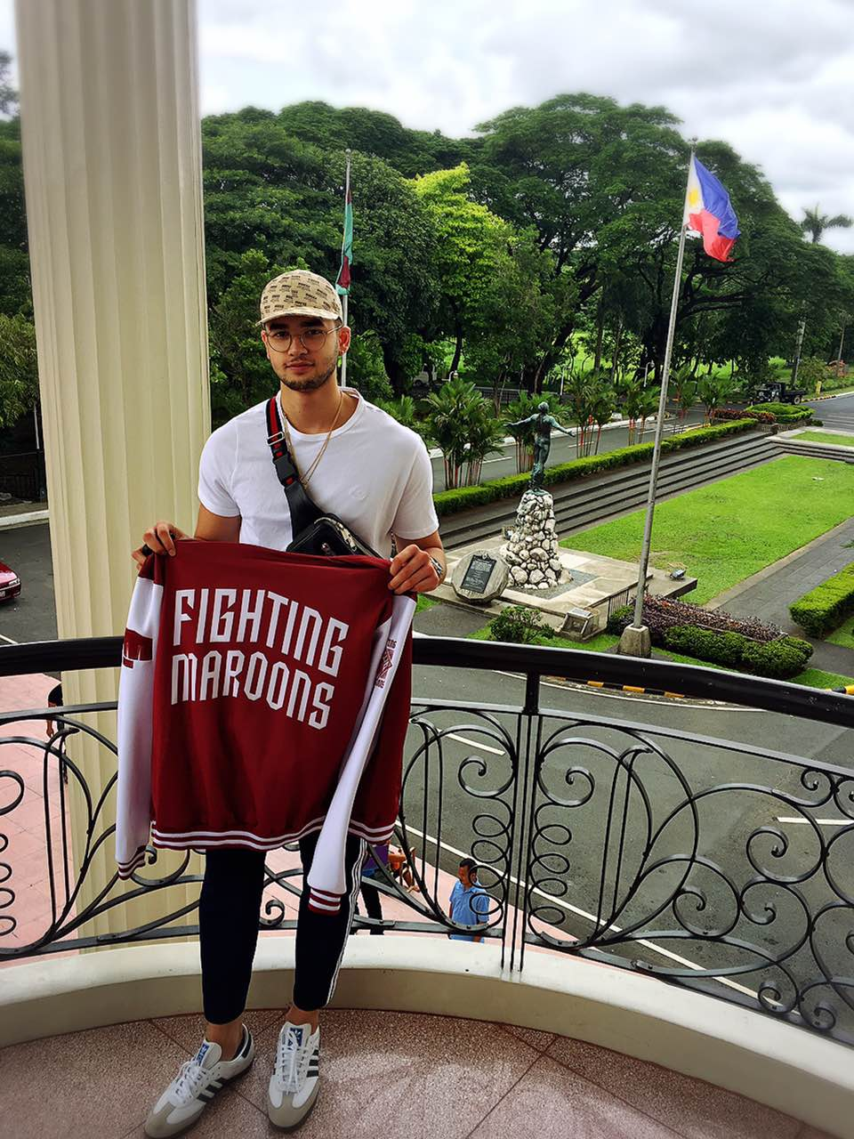 Kobe Paras Fighting maroons