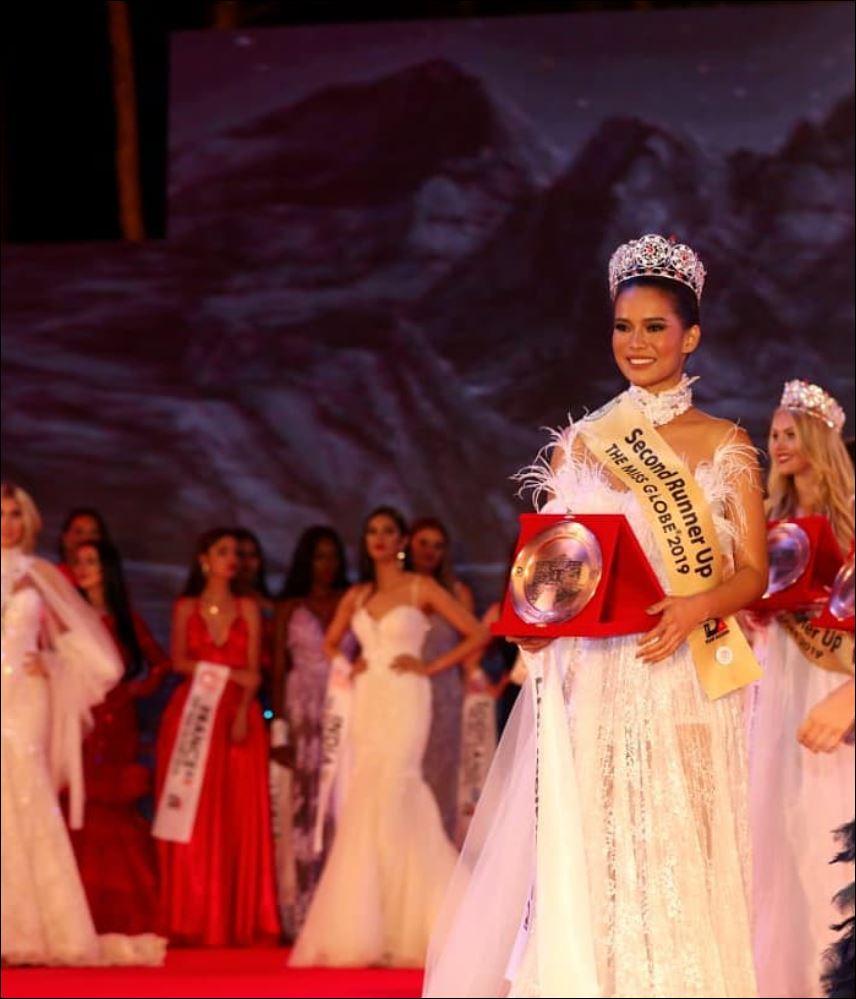 Leren Mae Bautista Miss Globe 2019 2nd Runner Up