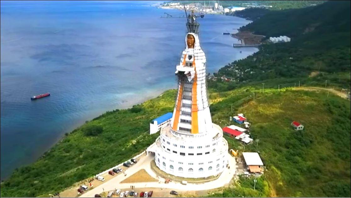 World's tallest Virgin Mary statue