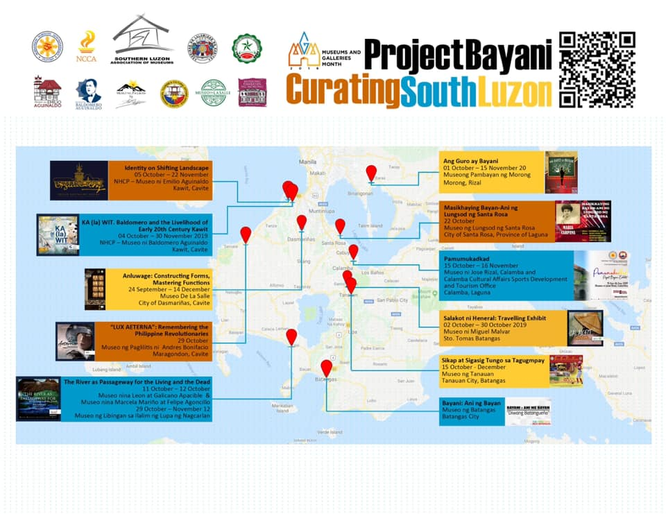 Project Bayani QR Codes guide