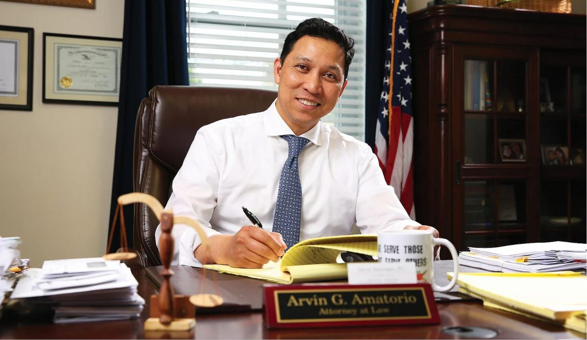 Arvin Amatorio Filipino mayor