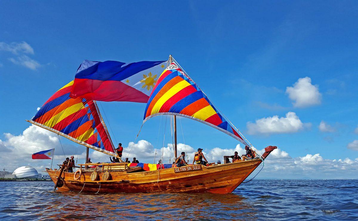 Balangay boat replicas
