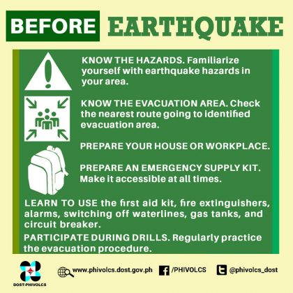 Before Earthquake