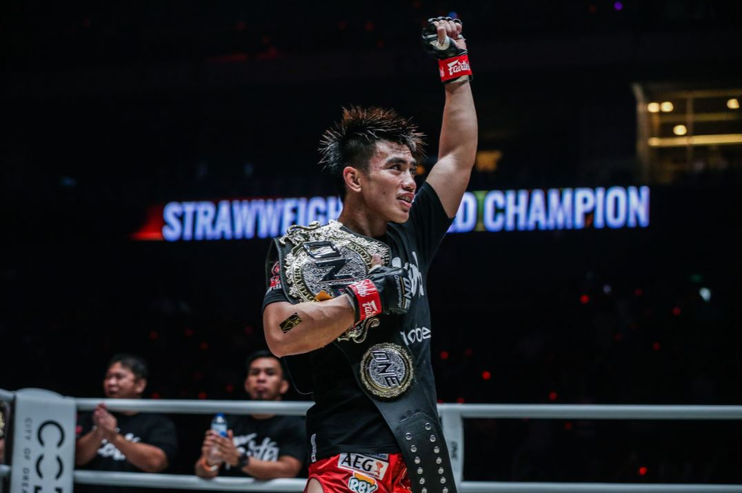 Pacio reclaim MMA championship