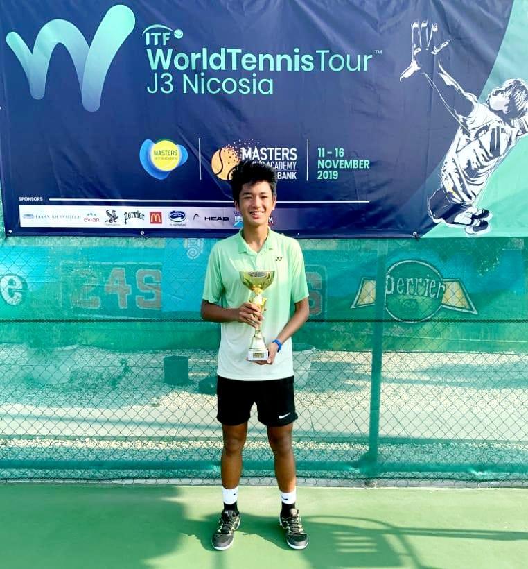 Miko Eala Masters Tennis Title