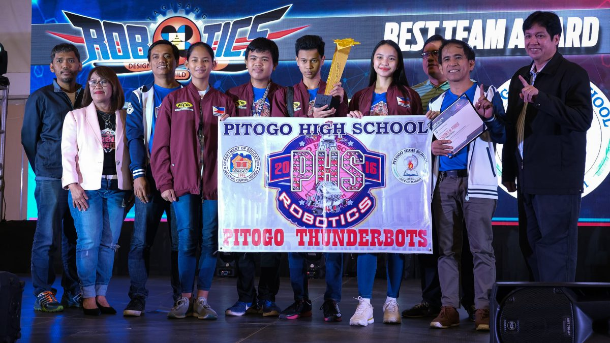Pitogo High School Robotics