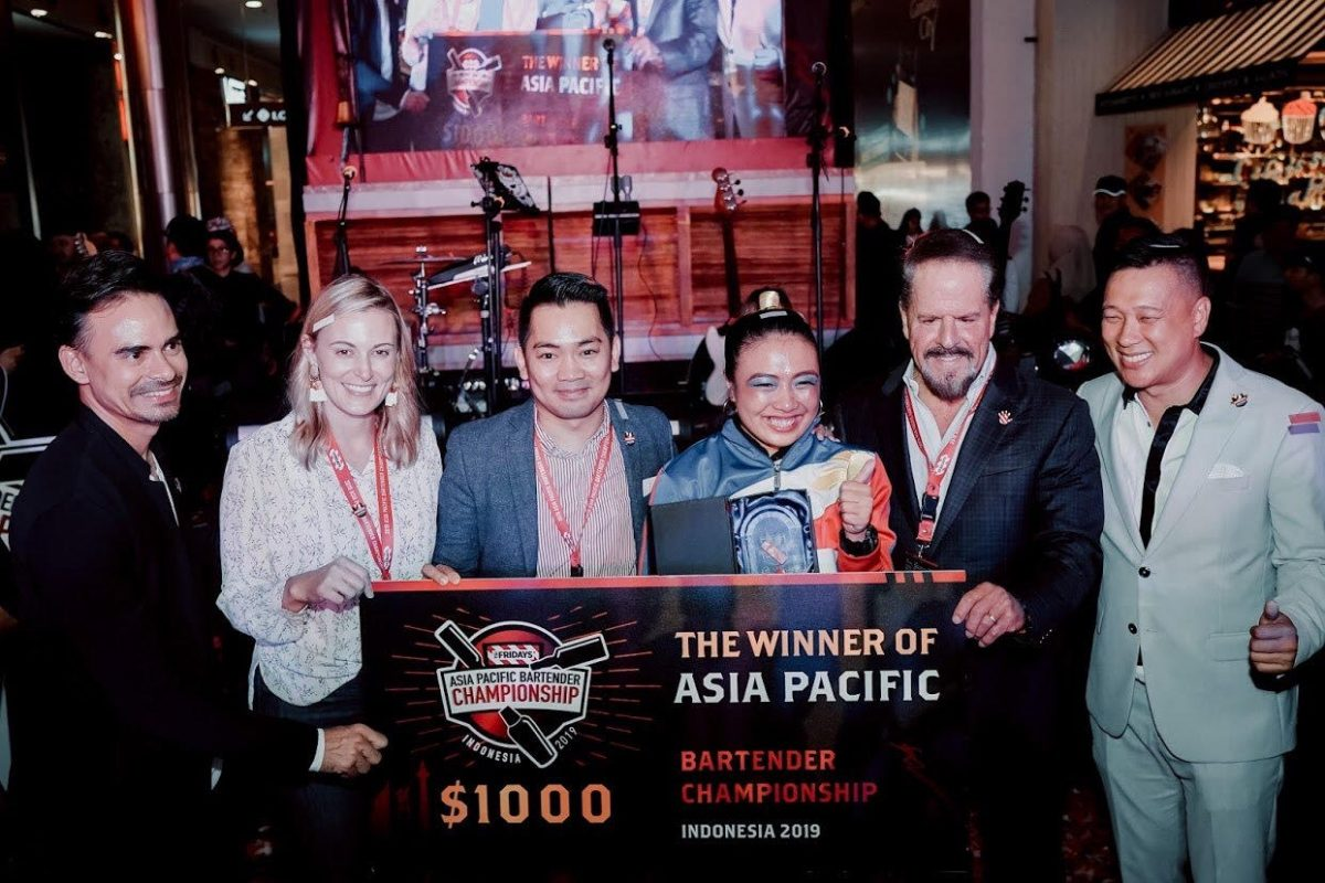 Marinel Paguia Asia Bartending Champion