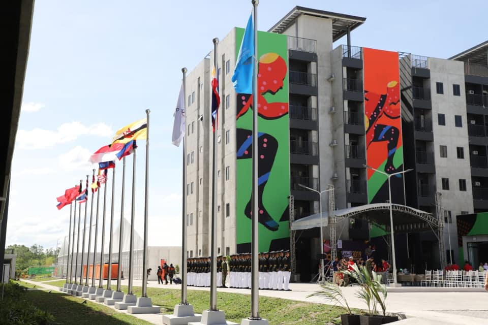 Sea Games Village facilities