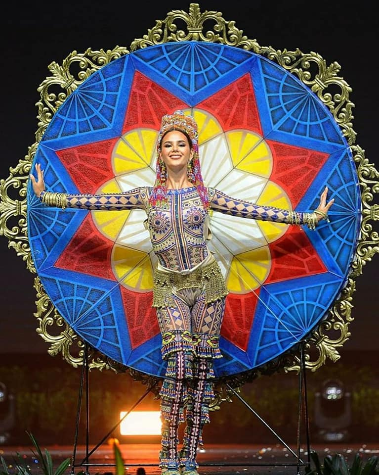 Catriona Gray dinated Luzviminda Costume