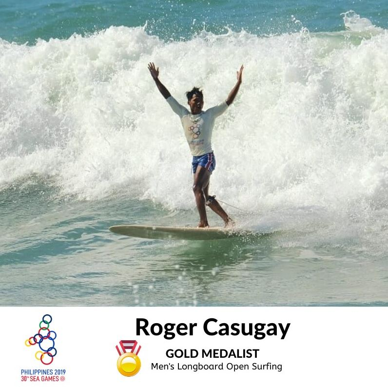 Roger Casugay gold