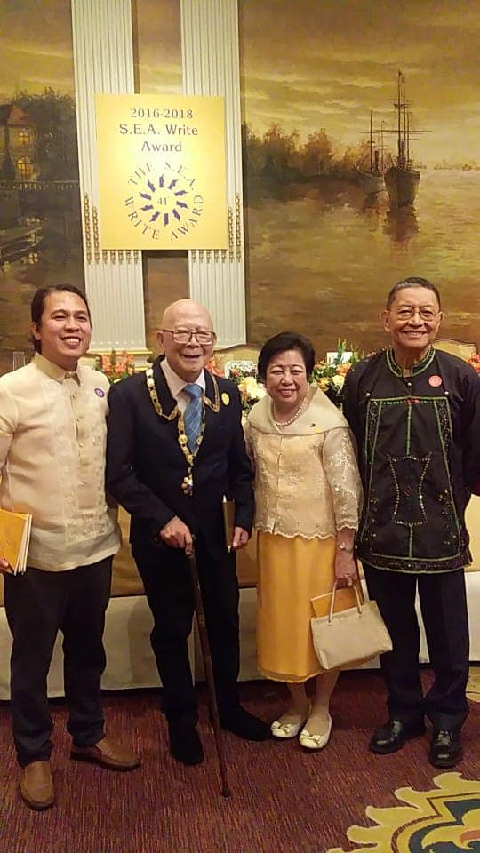 Filipino authors Southeast Asian Write