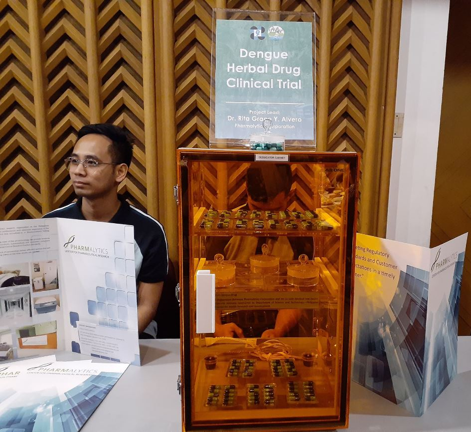 first anti-dengue medicine