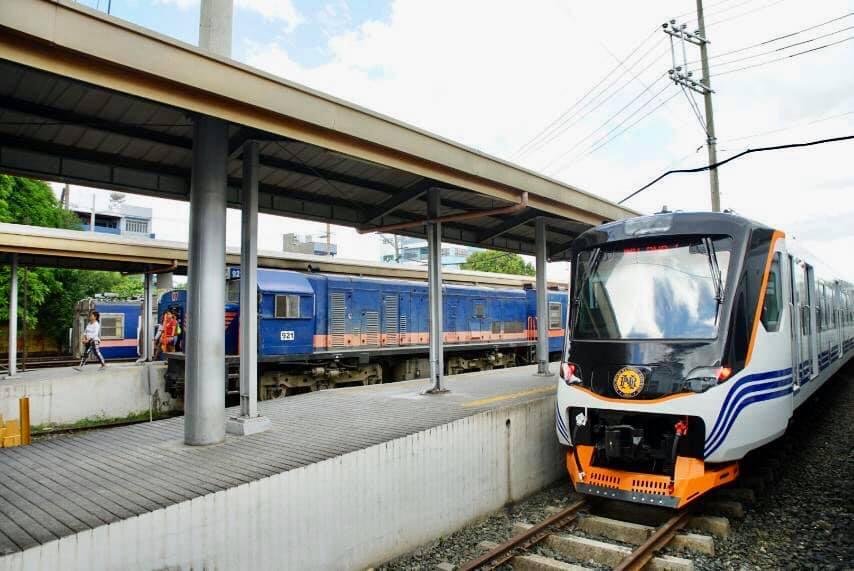 Laguna and Manila train