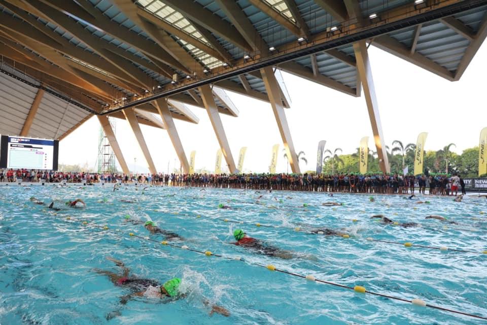 New Clark City Aquatics Center