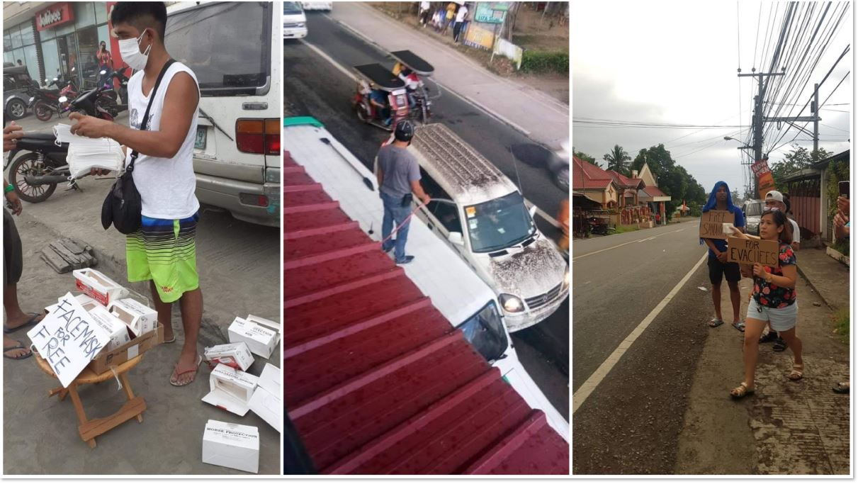 Taal Volcano Pinoy Heroes