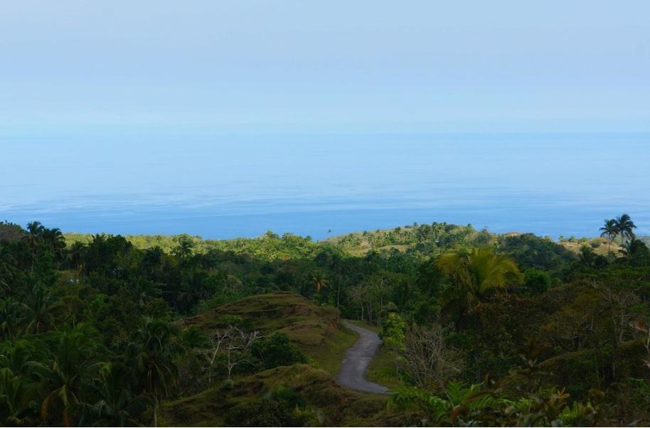 Siquijor's new road