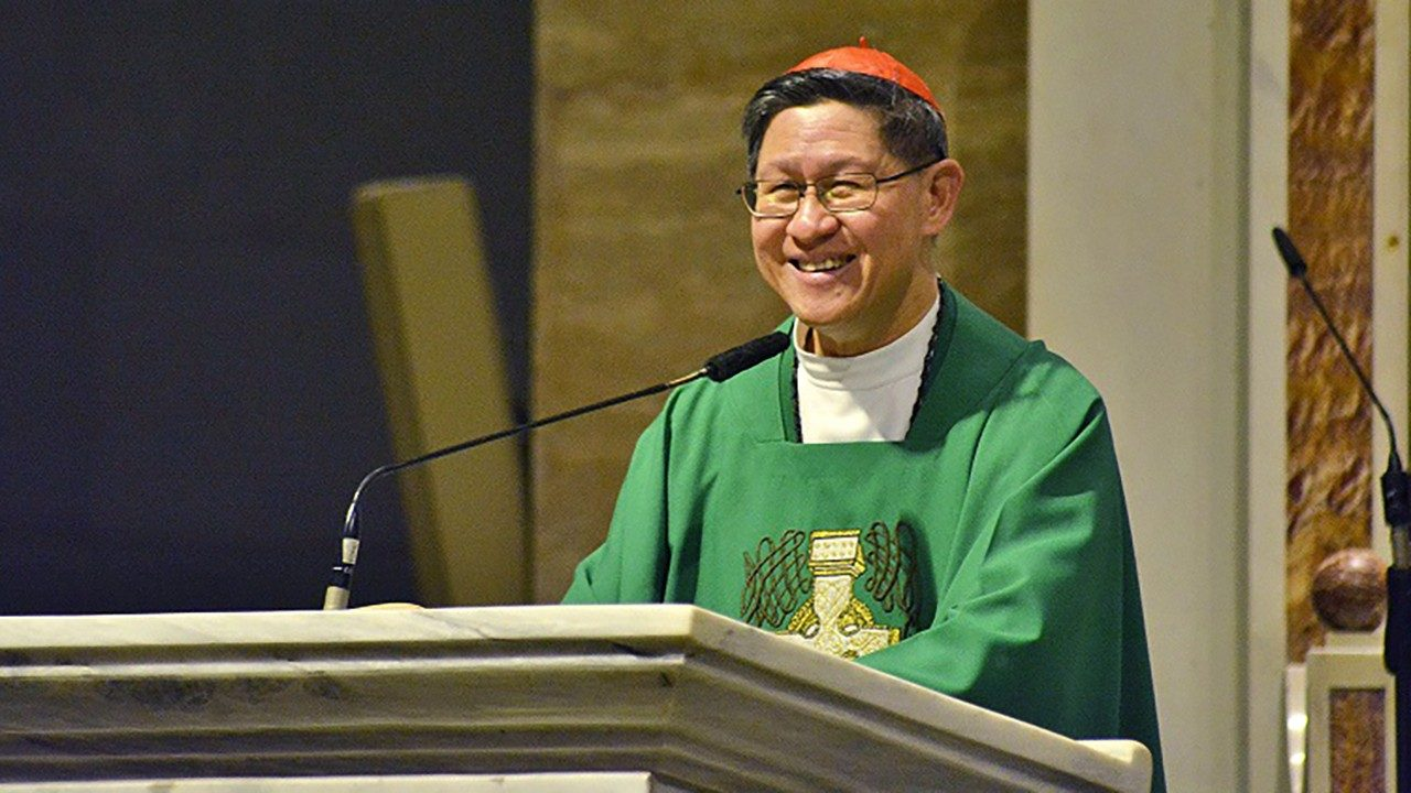Filipino Cardinal Chito Tagle