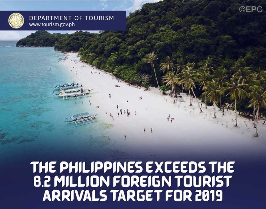 Philippines tourist arrival record