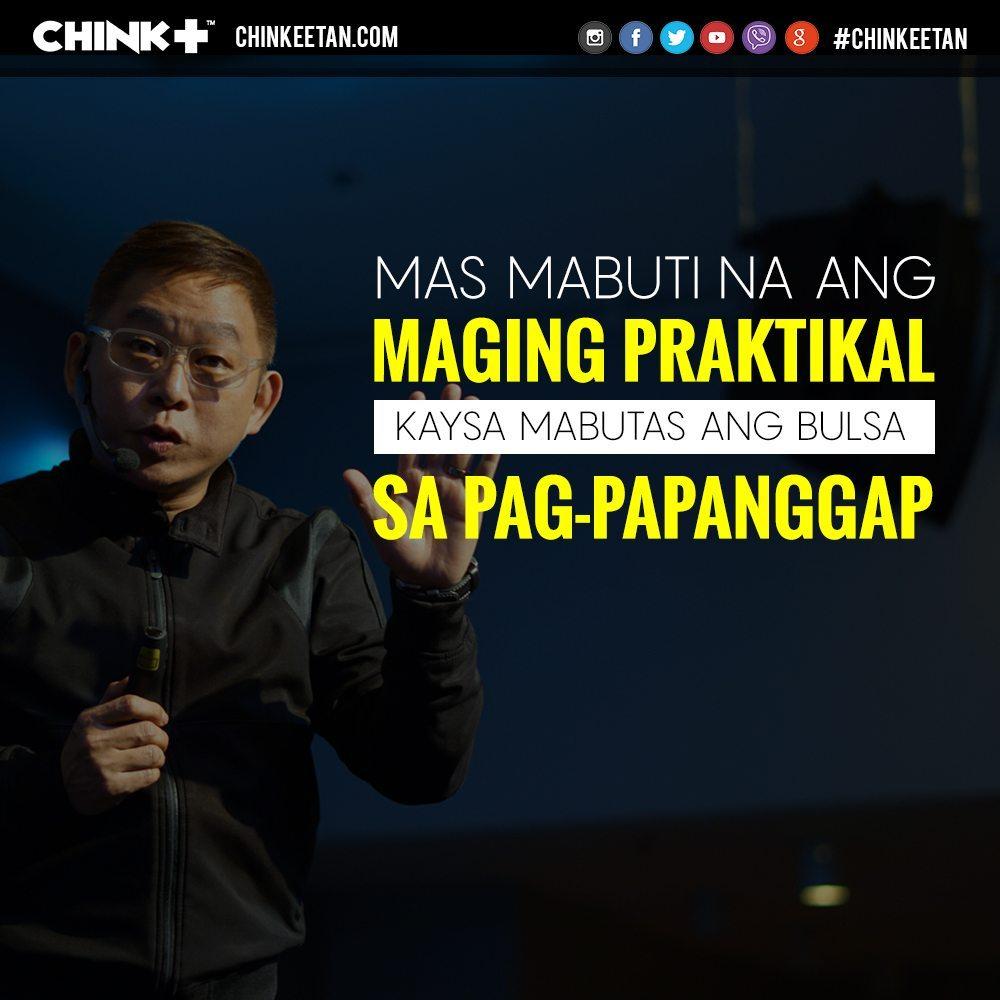 Chinkee Tan Budget Dating