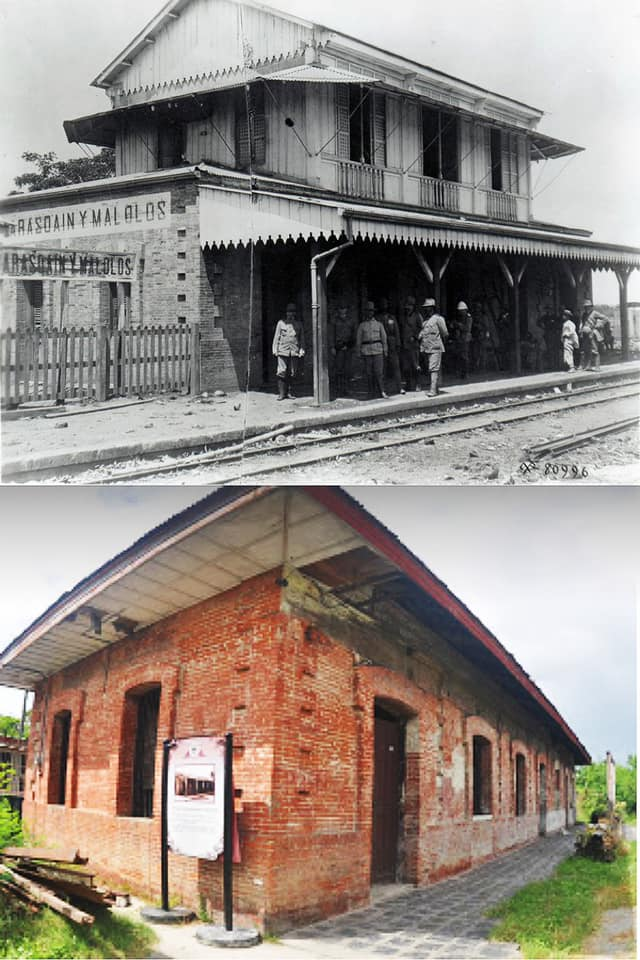 Brick Railway Station Malolos