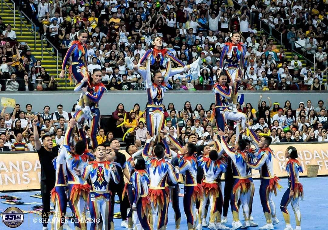 NU Pep Squad Cheerleading World Championship