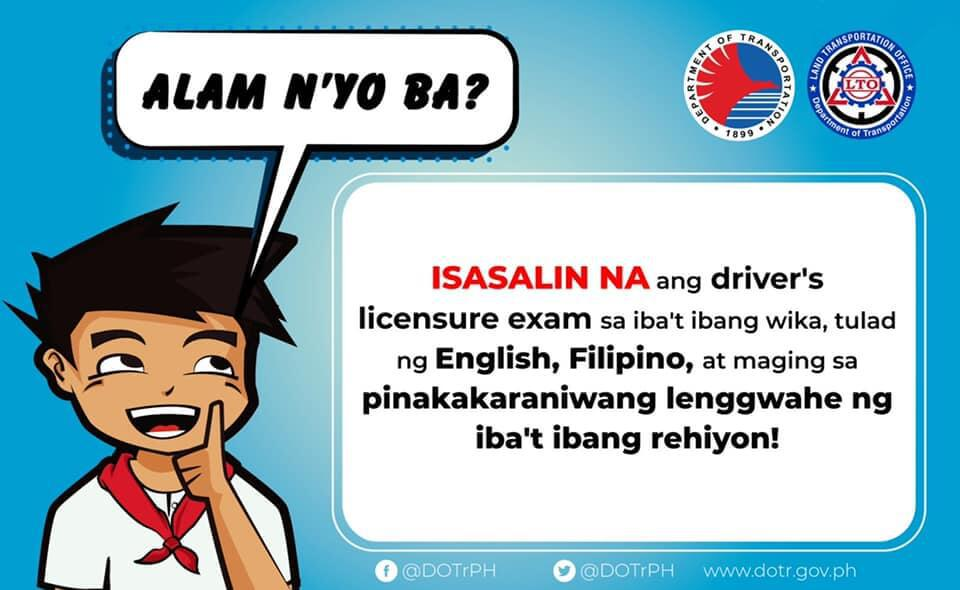 Philippine Driver's License Examination